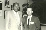 Maximo Aguirre y el Alcalde De Los Angeles