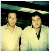 Máximo Aguirre y Gustavo Páez